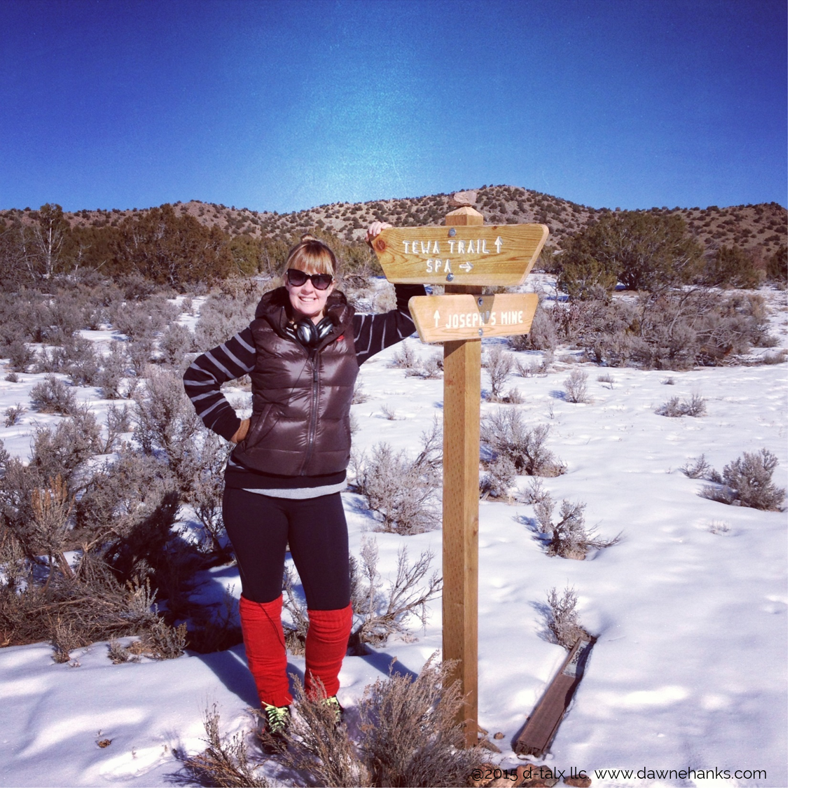 The day I decided to stop waiting on top of a hike in New Mexico at    Ojo Caliente    New Years 2013