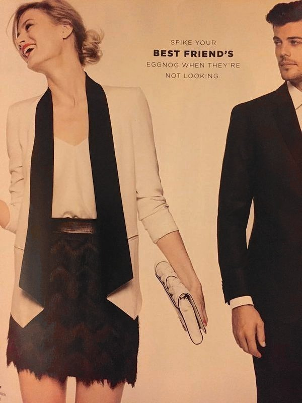 Actual Bloomingdale's ad from December 2015