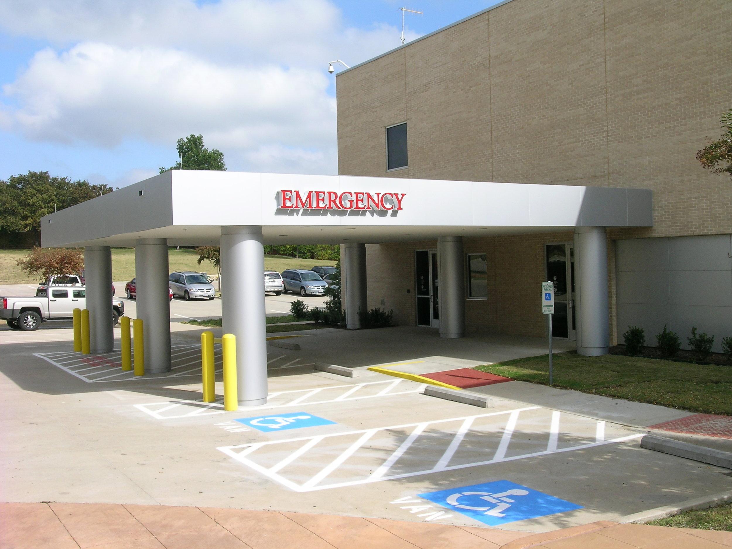 New Emergency Entrance Canopy.JPG