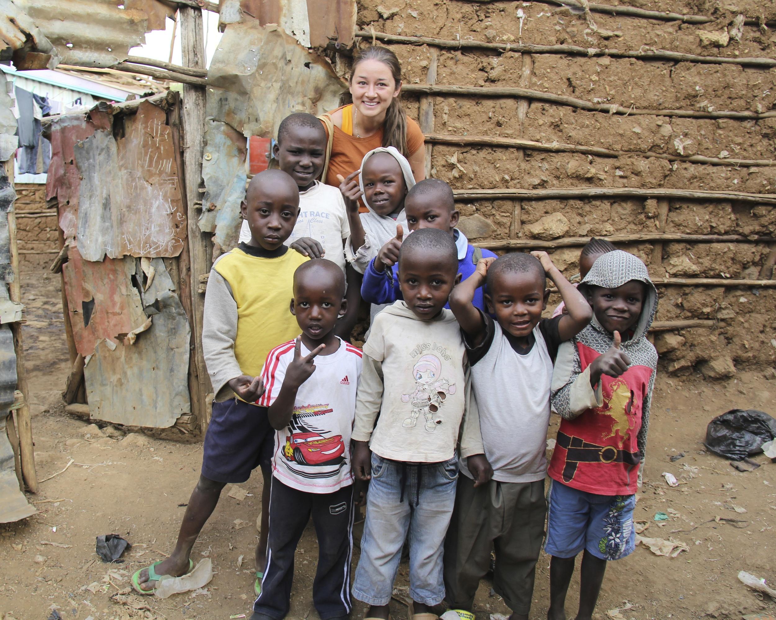 Kibera Slum: Nairobi, Kenya