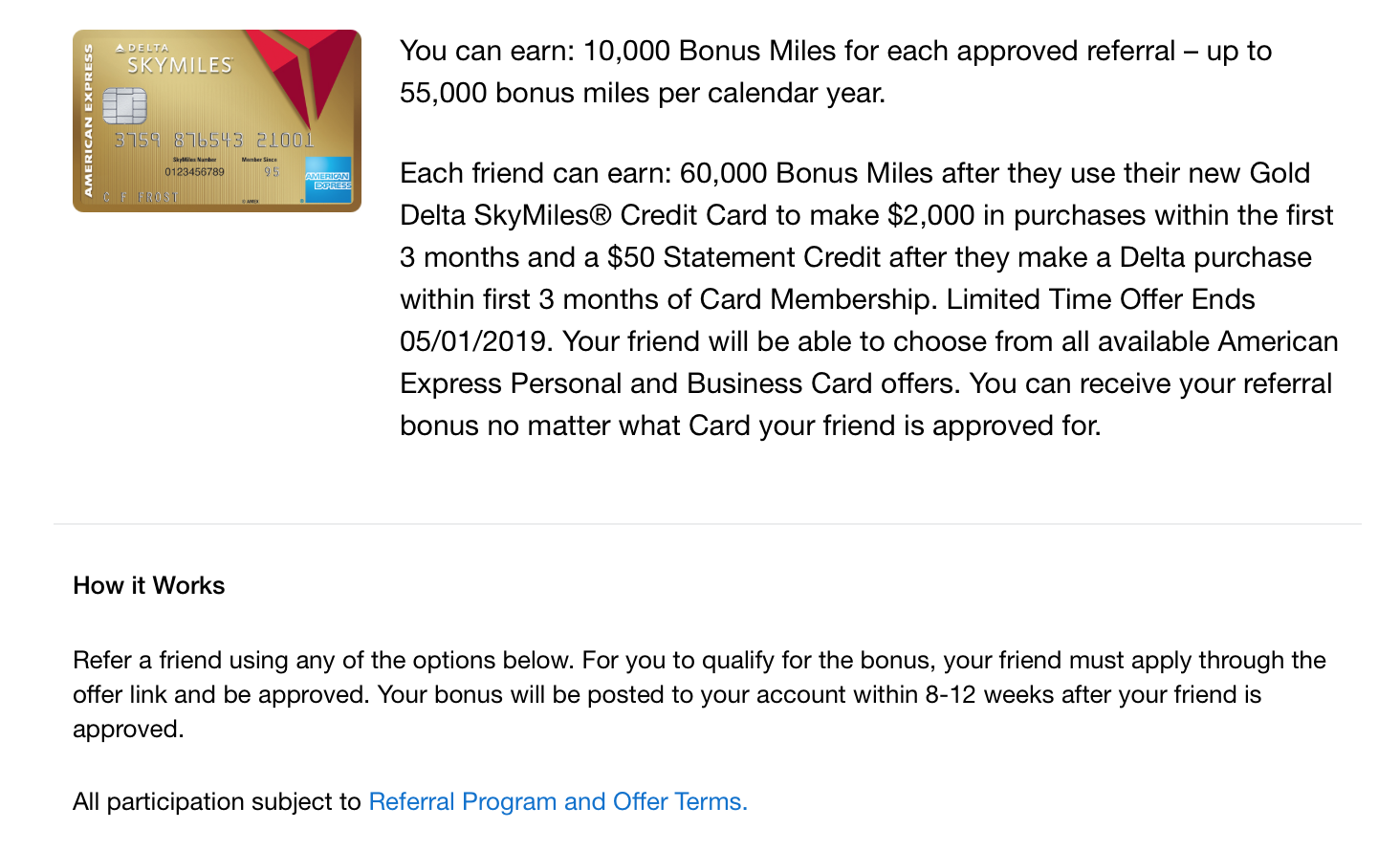 Delta skymiles referral bonus miles skymiles.png