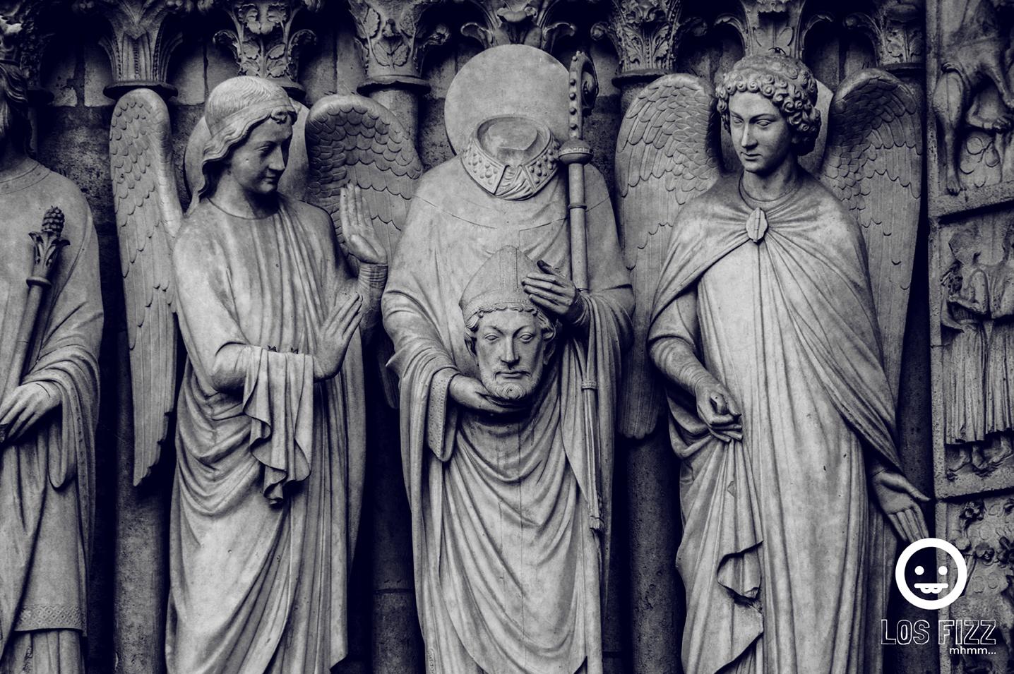 Notre Dame Statues. Photo By Losfizz. 2017 Paris, France