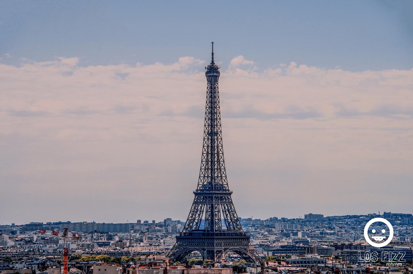 Eiffel Tower in Paris, France. Photo By LosFizz.