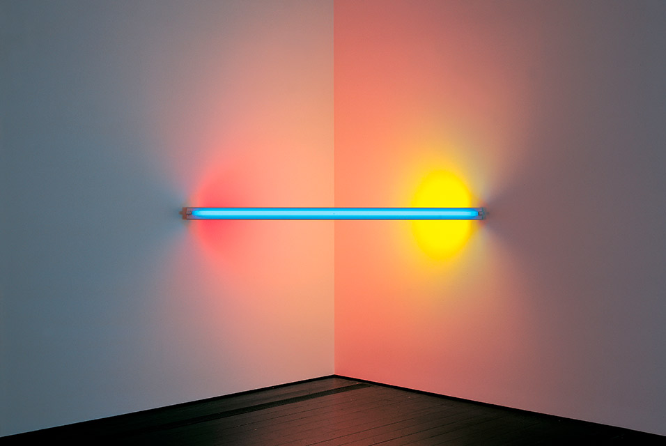 Dan Flavin, untitled (to Virginia Dwan) 1, 1971. © 2015 Stephen Flavin/Artists Rights Society (ARS),