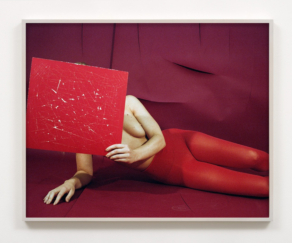 Woman no. 8, 2016 signed, dated, titled and numbered verso archival pigment print 32 x 40 inches edition of 3 plus 2 artist's proofs