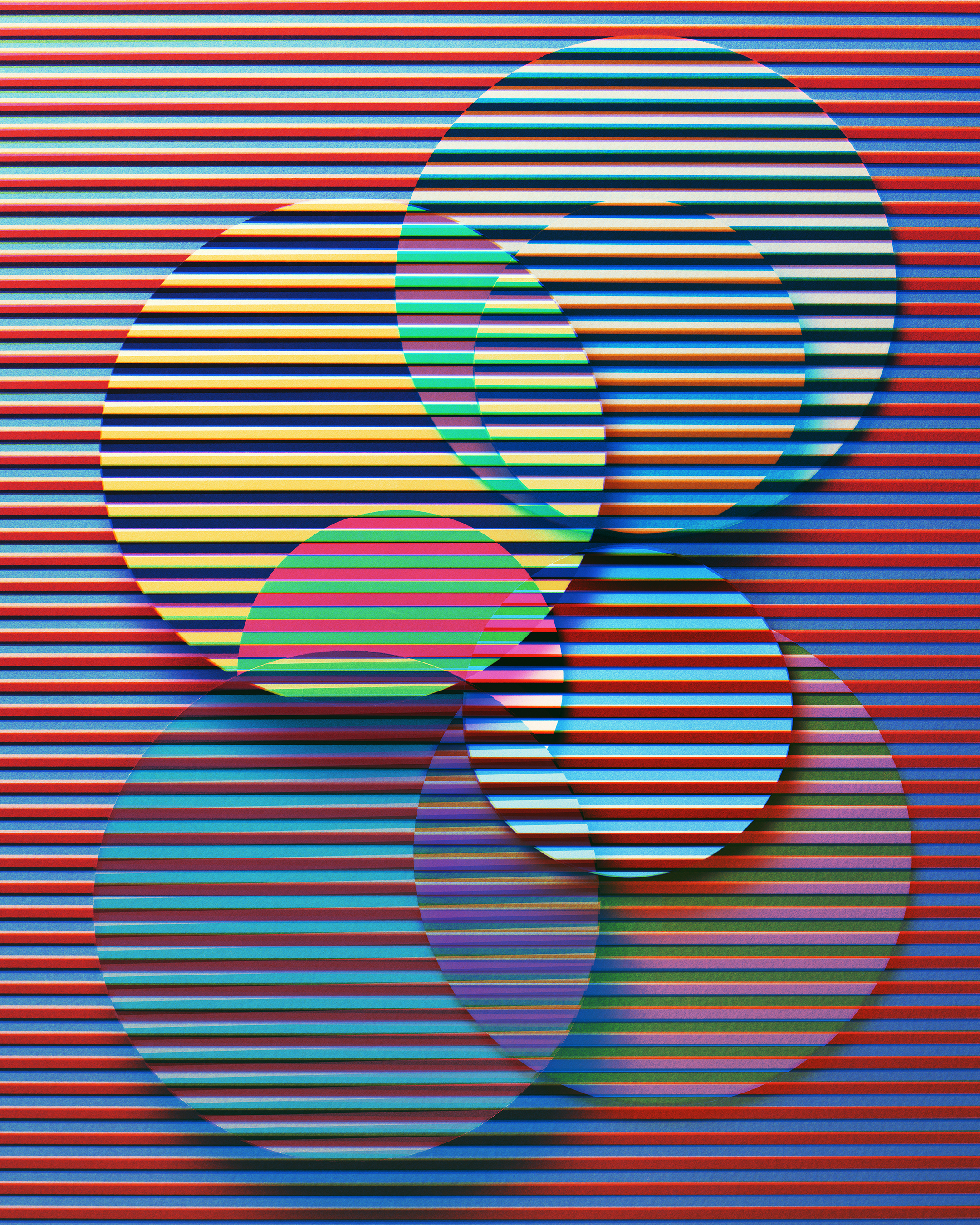 Jessica Eaton  Transition H45, 2016 archival pigment print © Jessica Eaton, Courtesy of the artist and M+B Gallery, Los Angeles