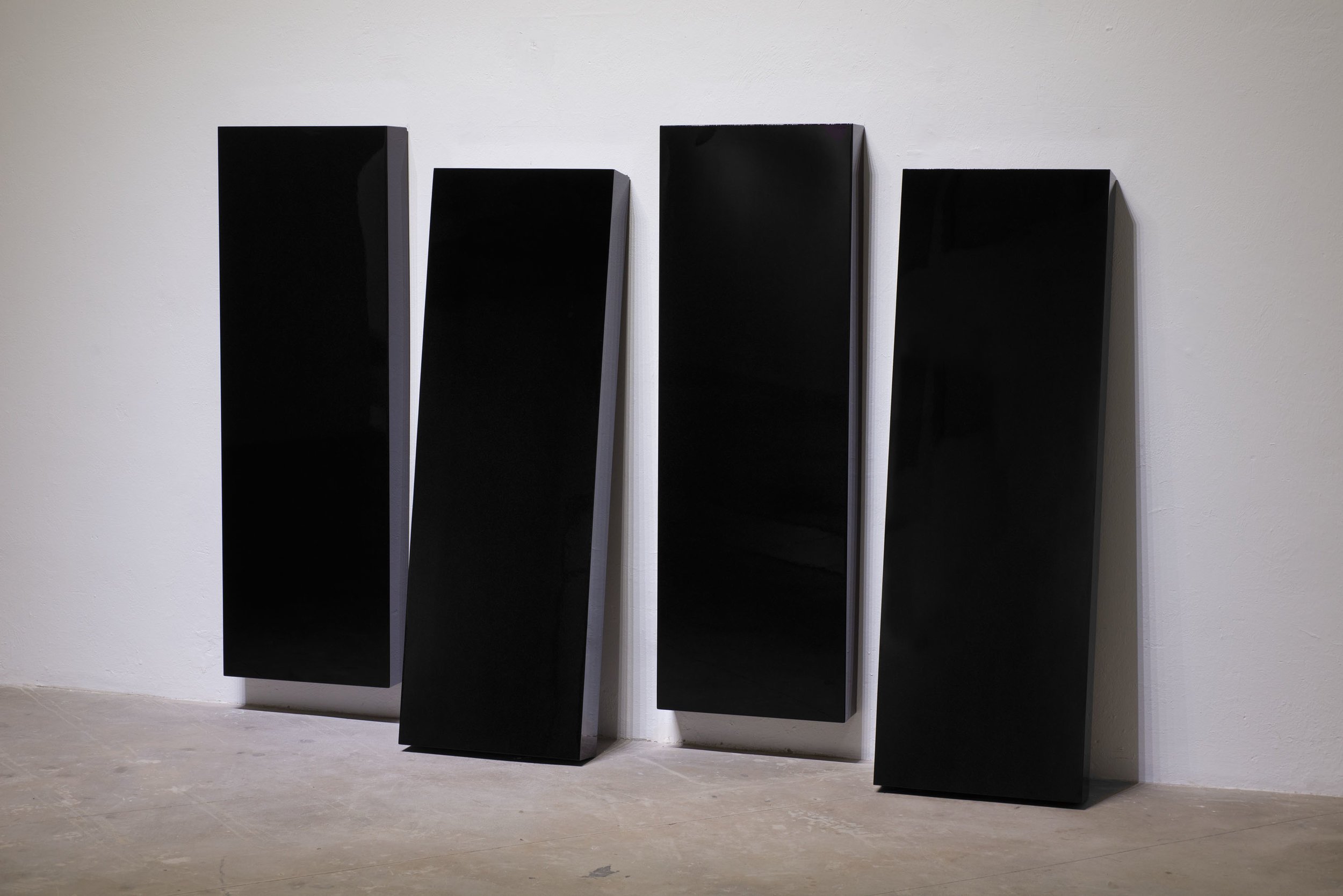Rubén Ortiz Torres - Black Flag, 2014 (installation view)