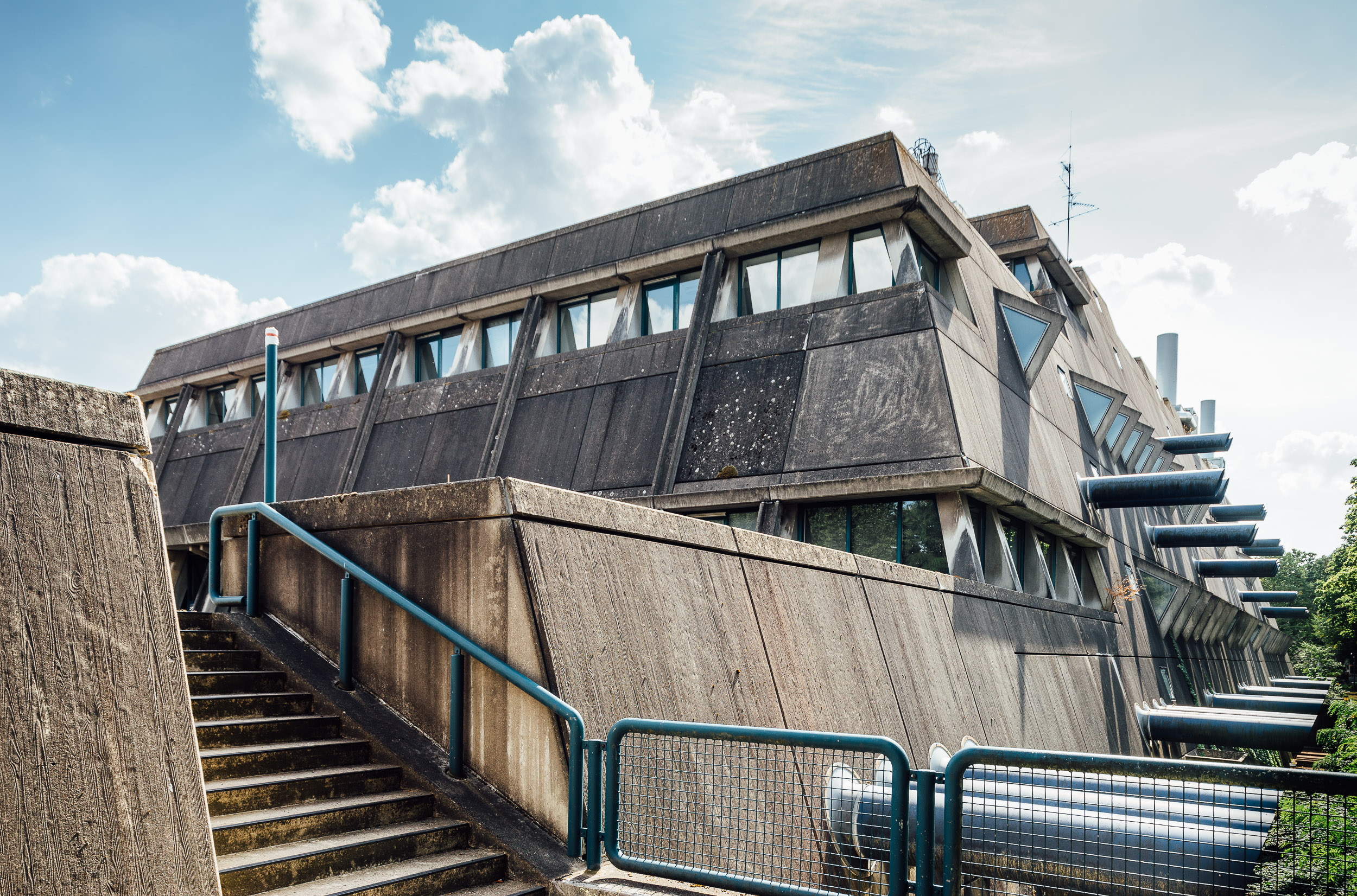 "Gerd Hänska: Central Animal Labs ""Mäusebunker"", Freie Universität Berlin, Germany, 1971–1980. Photo: Felix Torkar"
