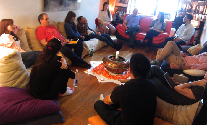 Creating Connection: Circling Immersion in New York City    with Guy Sengstock & Gina Brezini