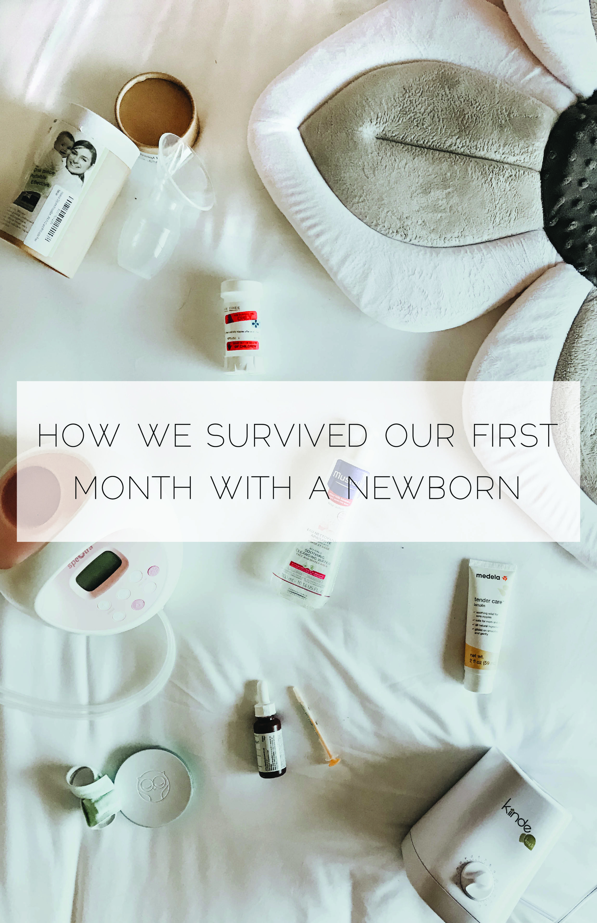How we Survived Our First Month with a Newborn (Our Newborn Essentials) from mbstyled.com a Lifestyle Blog