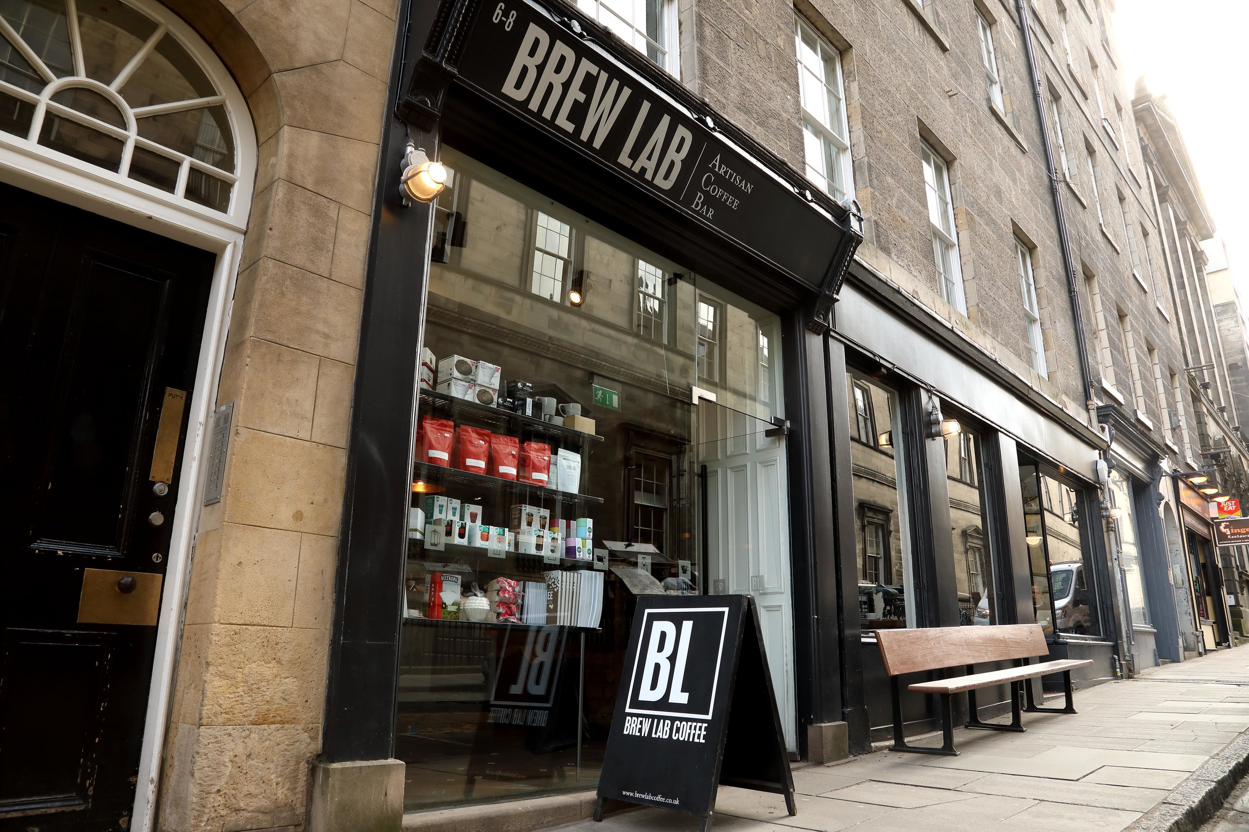 Brew Lab Speciality Coffee Bar Edinburgh