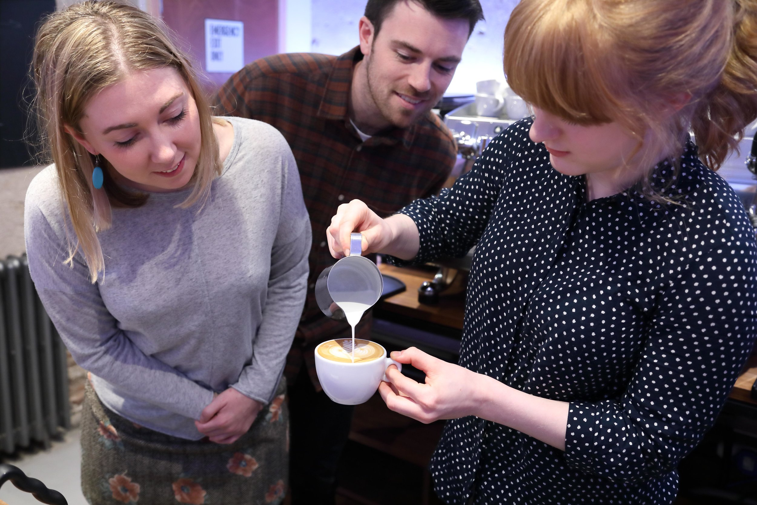Latte Art Masterclass   Learn to texture milk and pour latte art like a pro.   Find out more