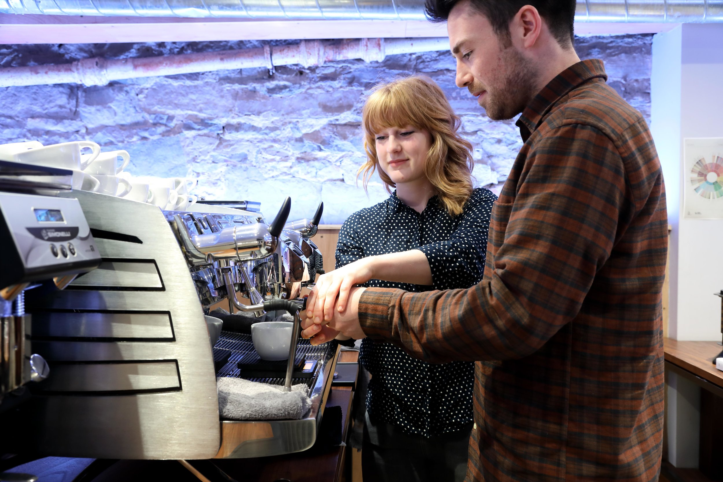Private Barista Training   A bespoke session, designed for you.   Find out more