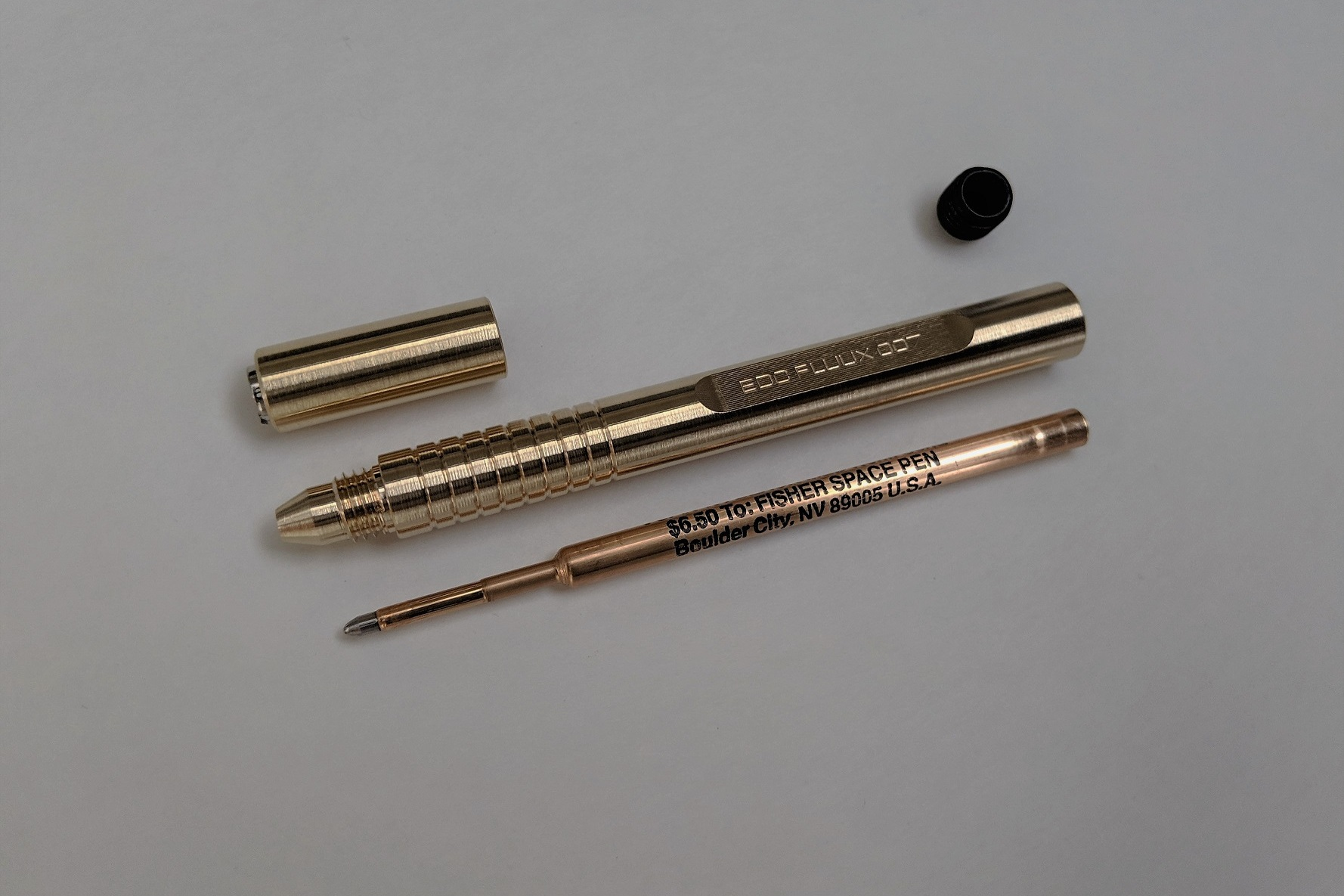Tungsten Carbide Refill Ball - I just wanted to write that, some very clever folks at Fisher made one wizz-bang of a refill…it writes in space, should work on your desk.