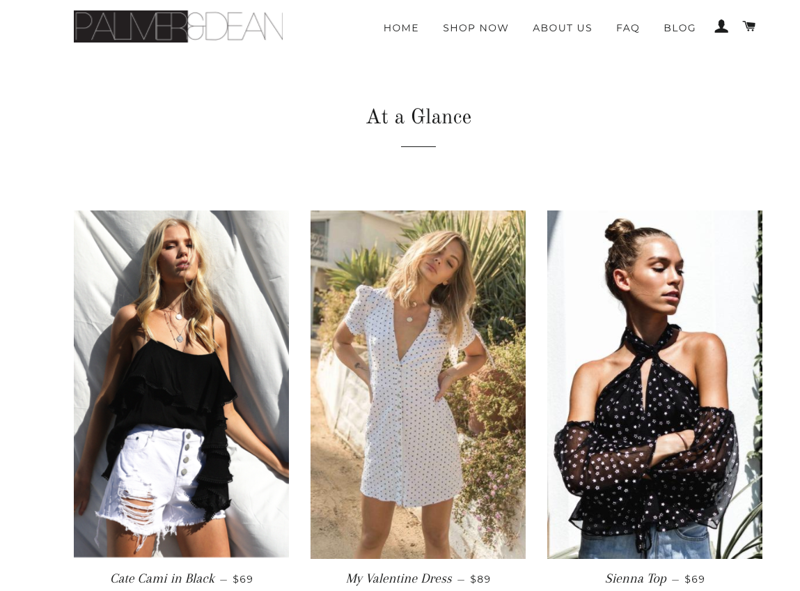 Introducing Palmer & Dean - This past December, I was approached by Palmer & Dean, a brand new Cayman company to see if I'd like to try out their new online shop and blog about the experience!