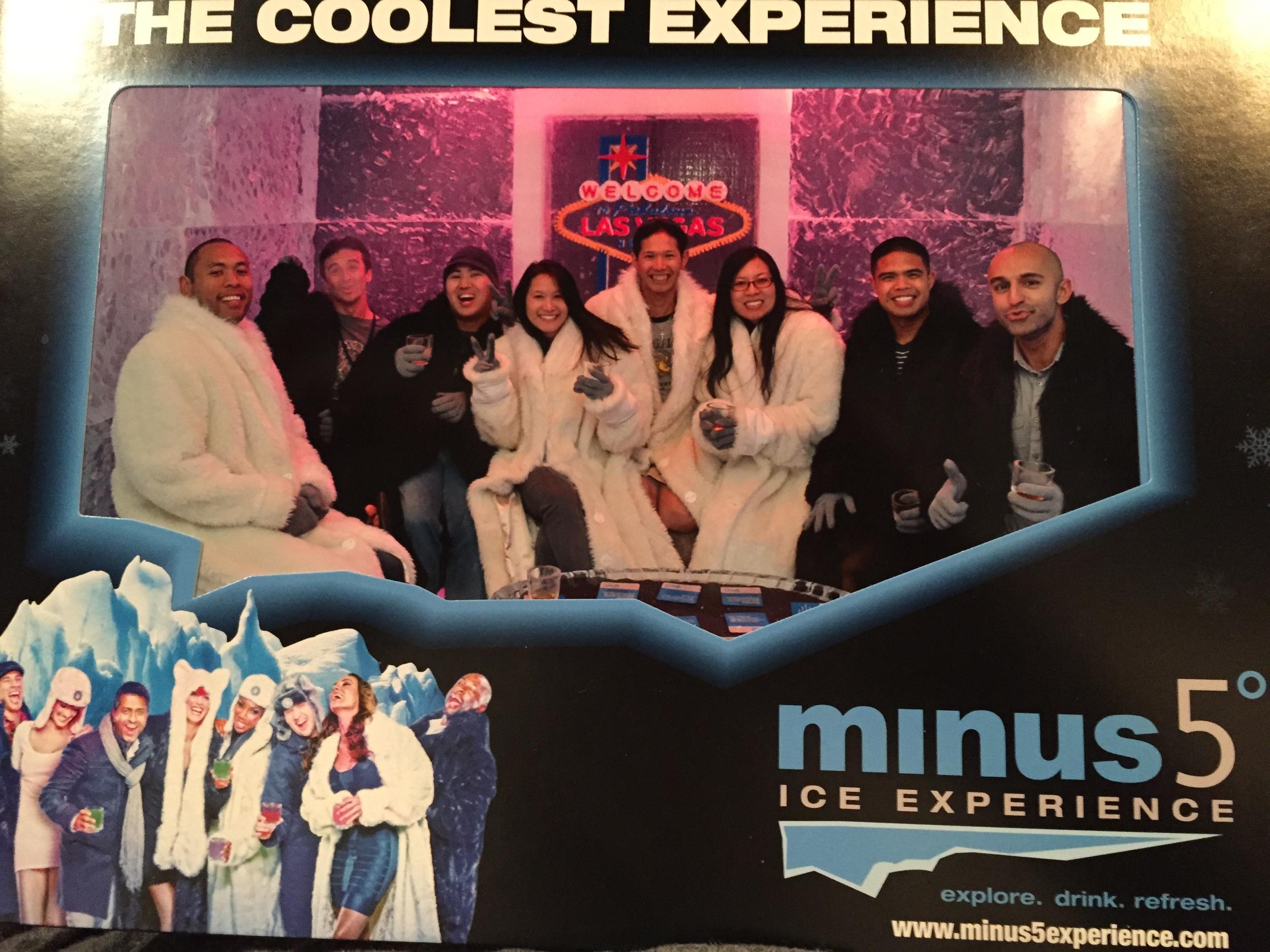 Minus 5 Ice Bar in Las Vegas