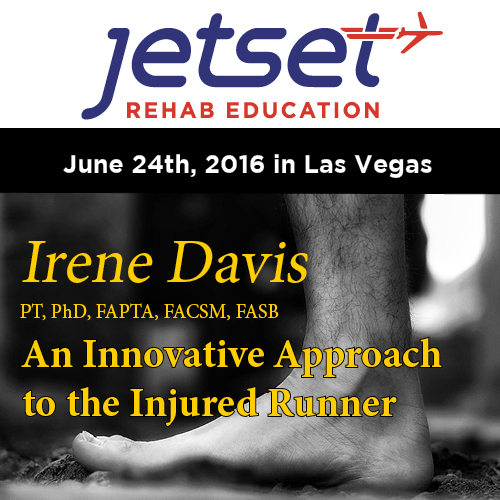 Here more from Irene Davis and a little on the Innovative Approach to the Injured Runner click our Free Podcast on our blog page Click   HERE