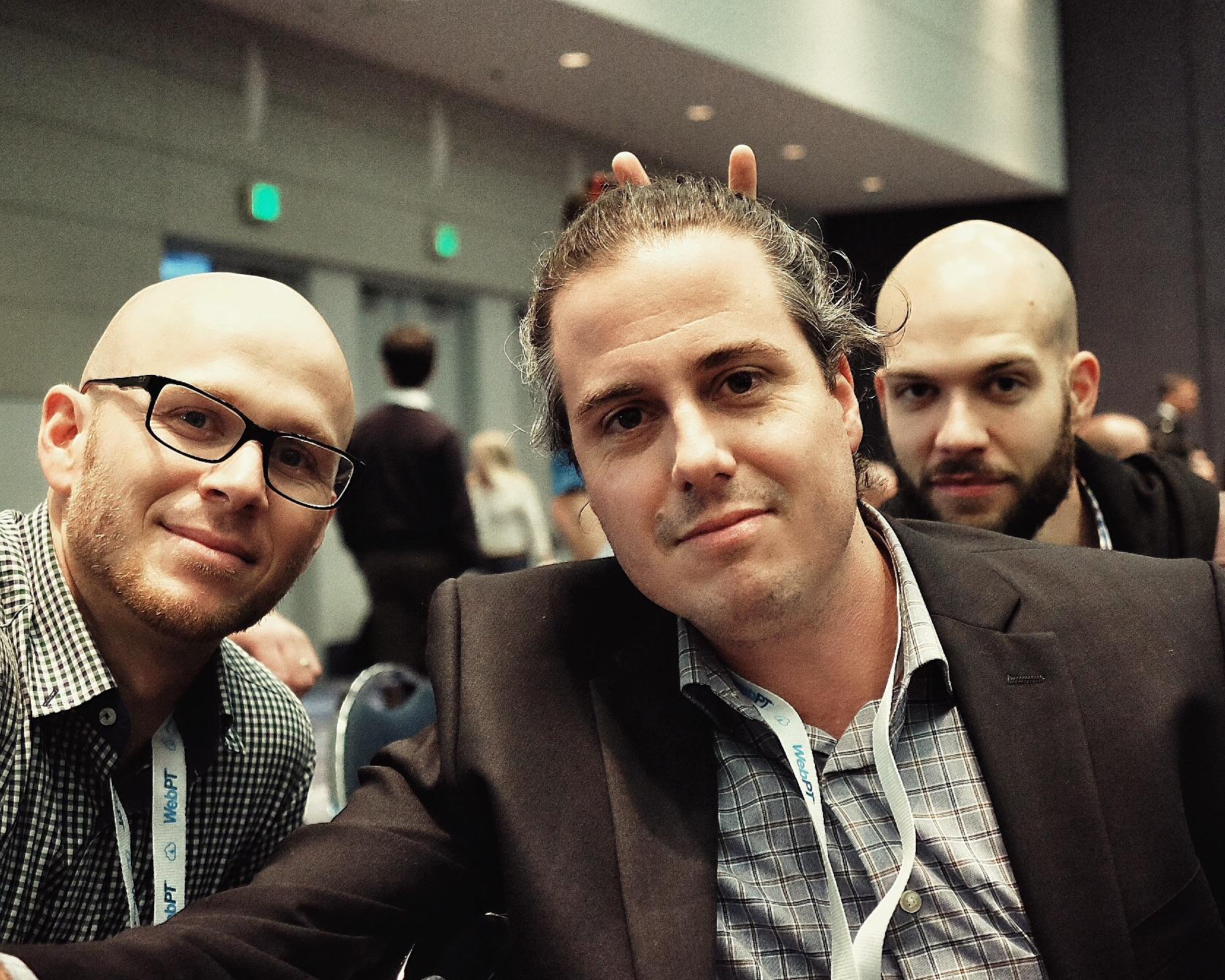 Left to Right: Brandan King, Andre Chavez, Stephen Morrison.