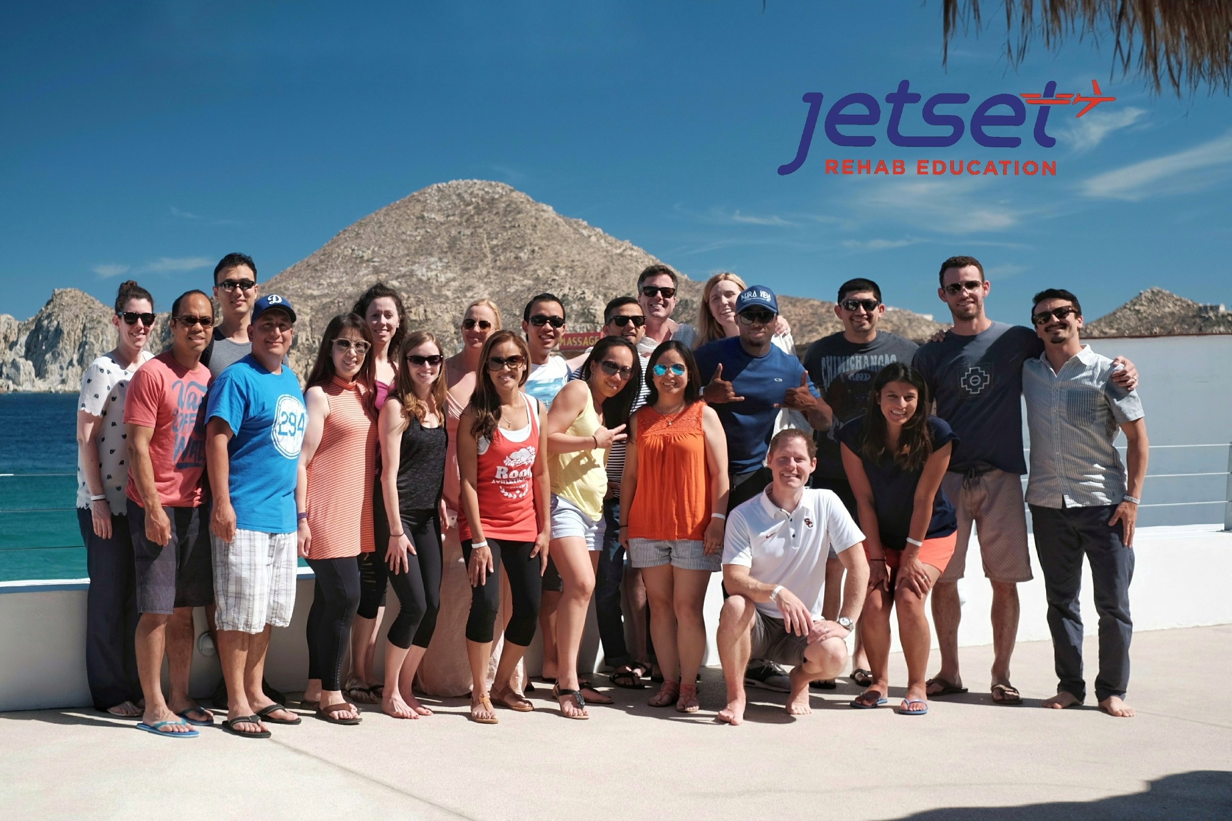 The class photo. Cabo 2018. Jetset will be back in May 2019! TBD....