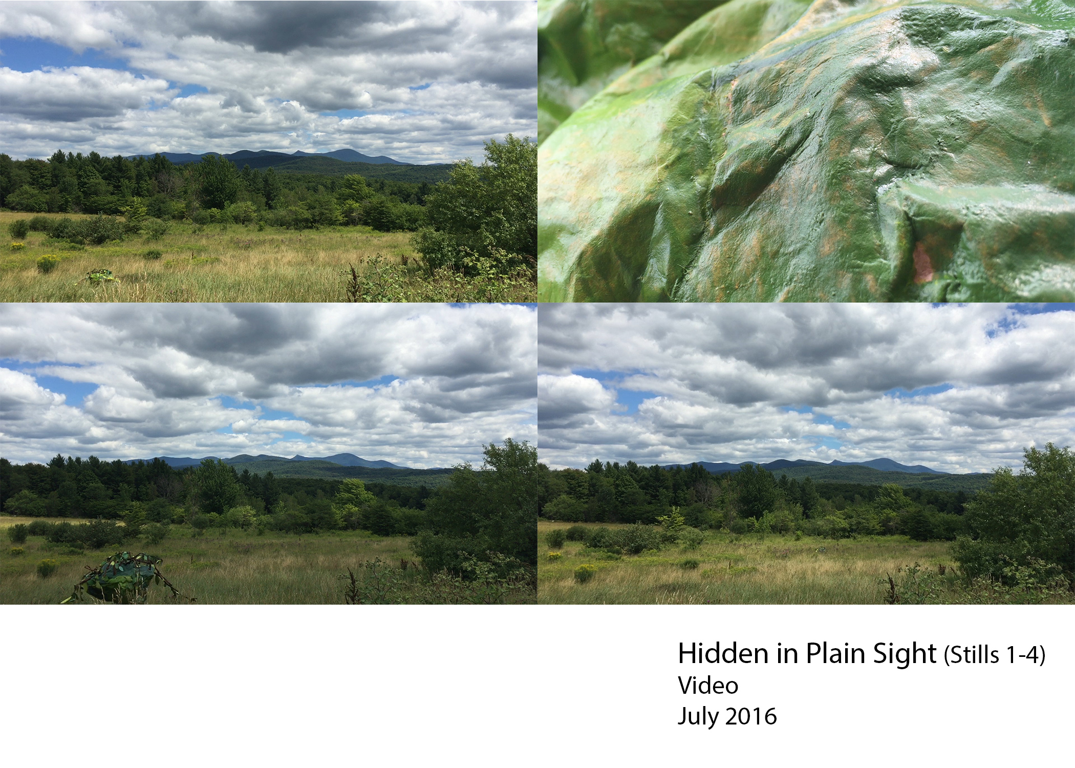 A video piece created in Richford, VT in July 2016.