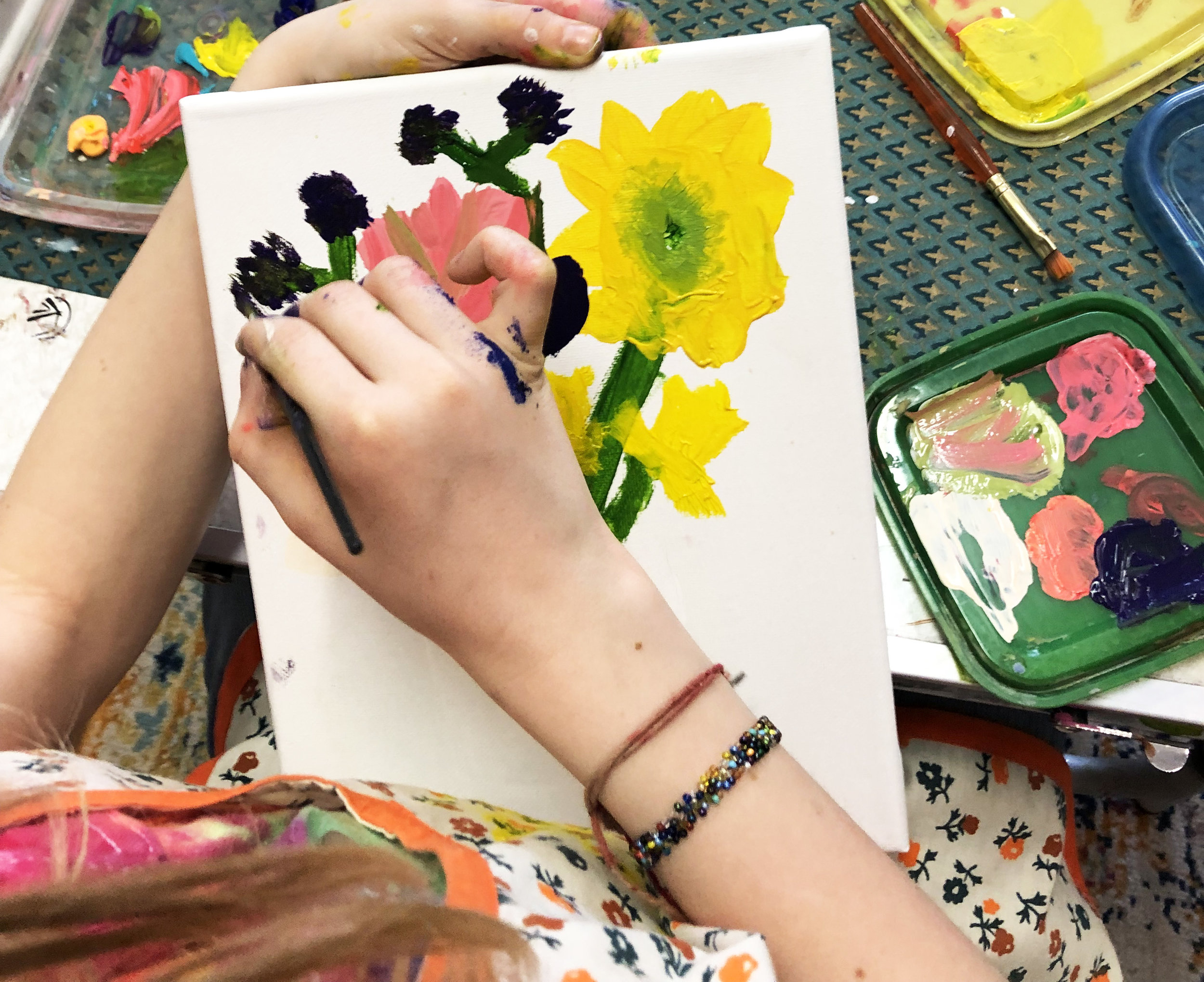 June 24th-28th Full Day Summer Arts - Full Day, Week Long Art-Making WorkshopRSVP to reserve a spot!  MAPS@MusicArtPuppetSound.org9am-3pm: $875In this week-long, full day experience at MAPS kids will work together to create an art gallery. We will spend all week making artwork (painting, sculpture, drawing, textiles, etc!) which will then be shown in our space on the evening of Friday June 28th.Children will study various historic and contemporary artists as we think about and explore form, color, shape and ideas. Kids will practice thinking about their own artwork, creating artist statements and titling their work.*Pack your own lunch. We will walk to the park to eat and play, weather permitting. We provide snacks!