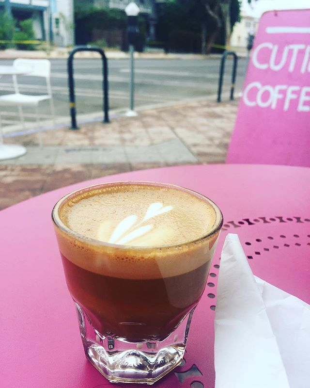happy #nationalcoffeeday day (every day is national coffee day, etc etc) #coffee #cortado