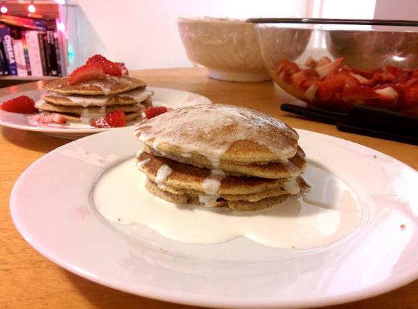 Buckwheat pancake take number three.