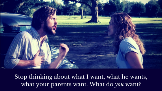 What do YOU want?