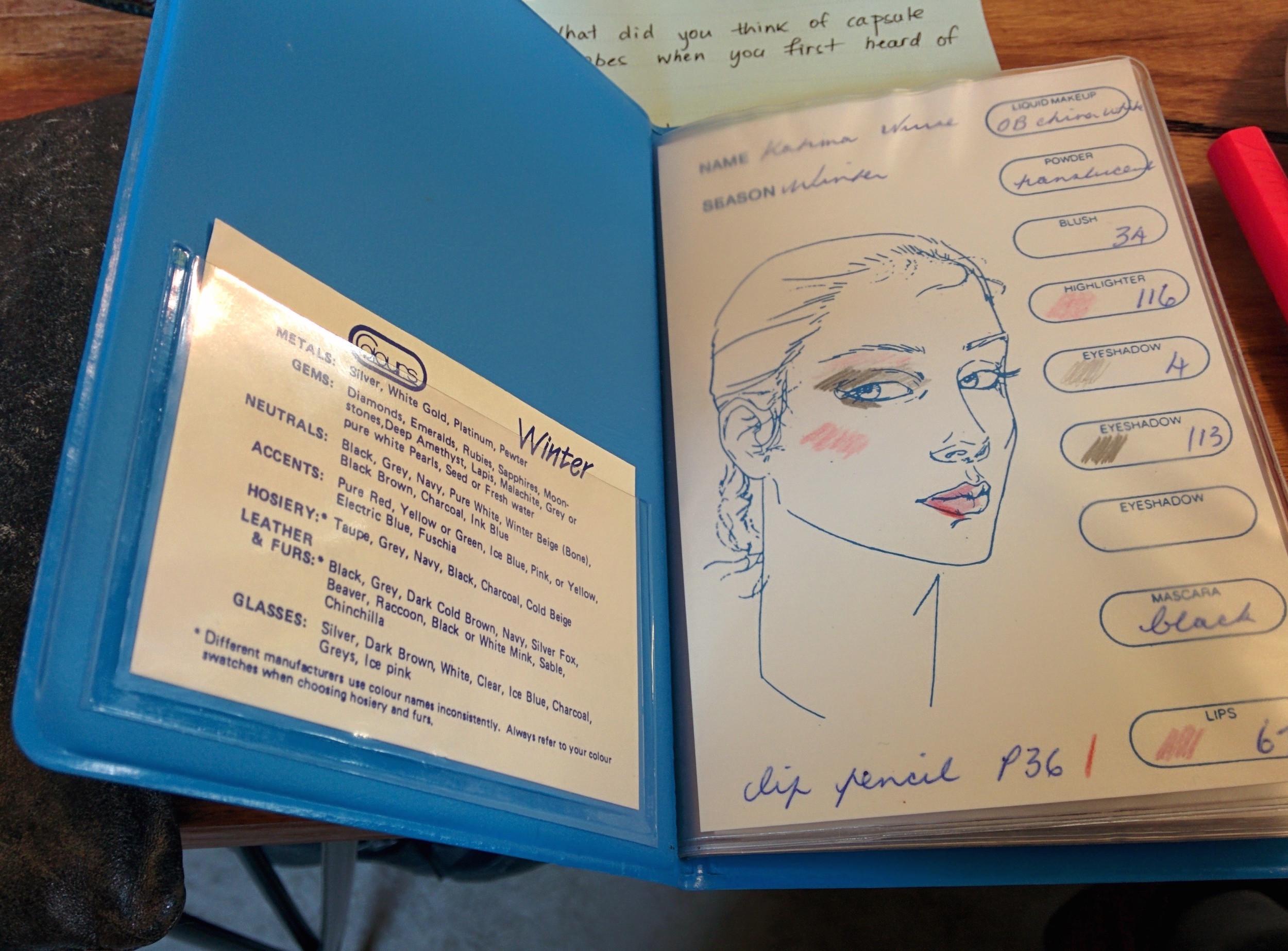 Katrina's Colour Book