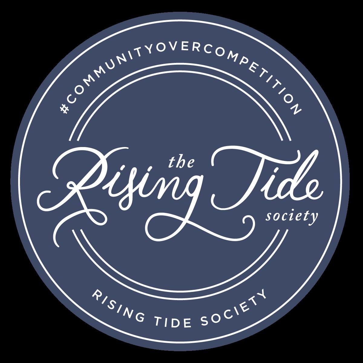 rising tide society badge