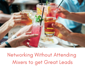 network without attending mixers wedding
