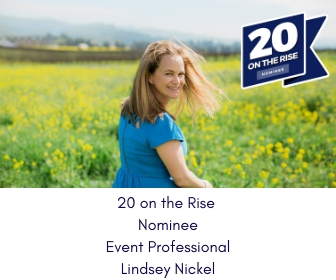 20 on the rise event professional