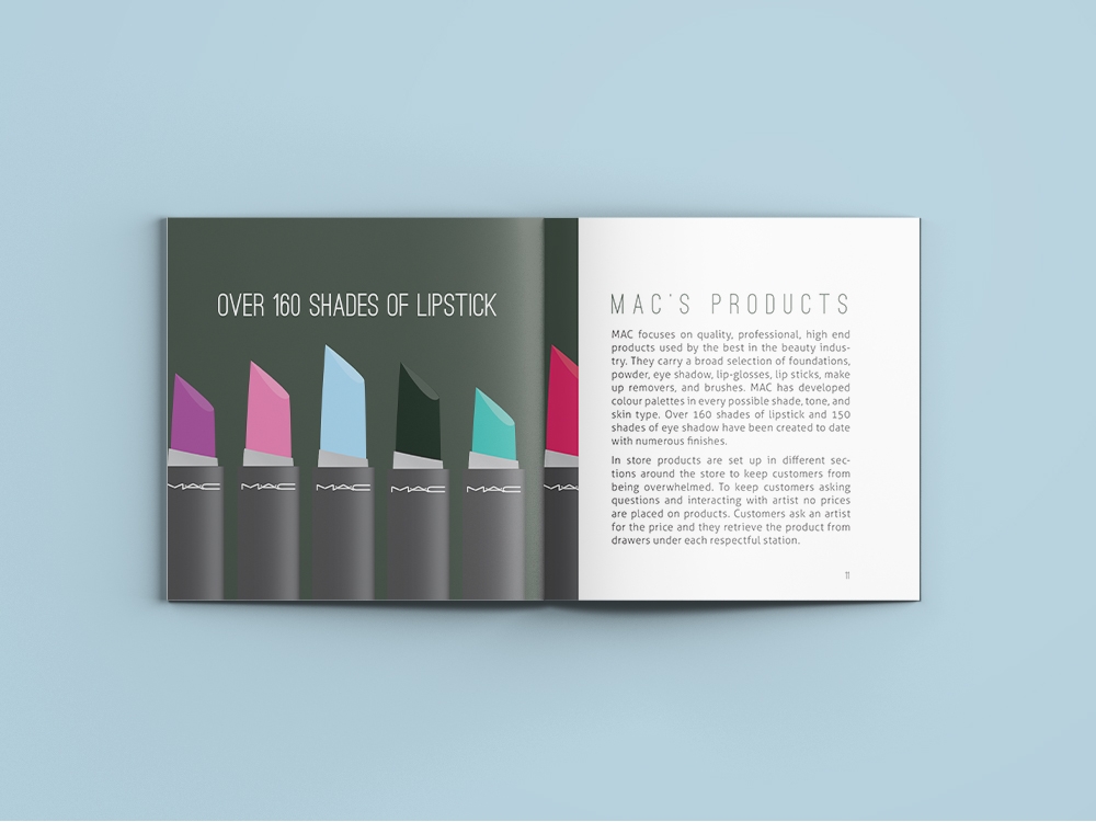 MAC Cosmetics Promotional Booklet | 2014