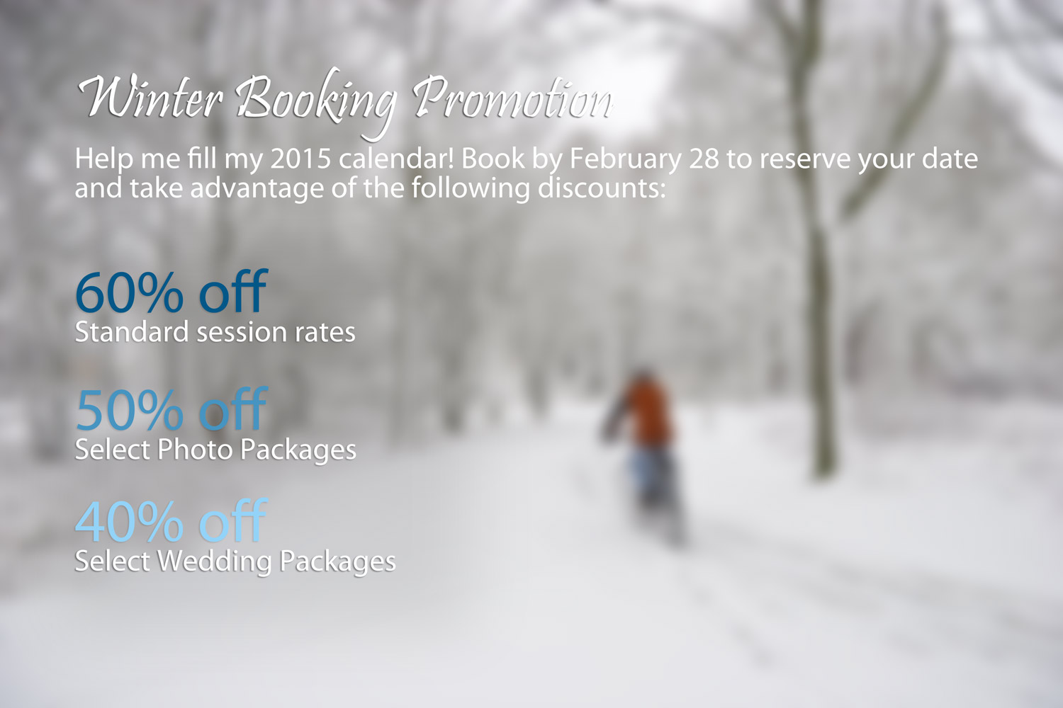 Winter Booking Promotion