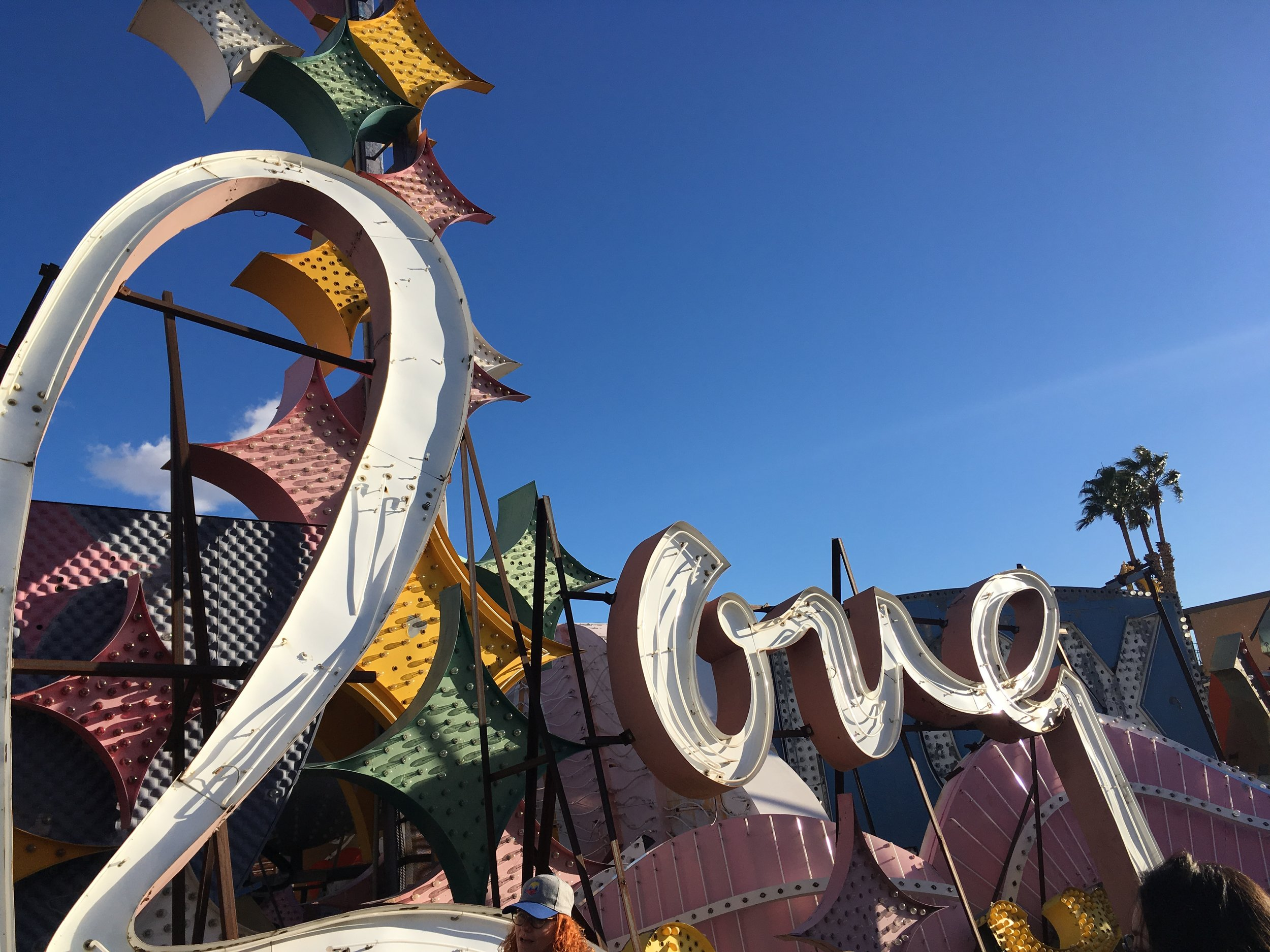 The sign from the Moulin Rouge, the hotel that paved the way to racial integration in Las Vegas. It only stayed open for something like 2 months but it was ground breaking.