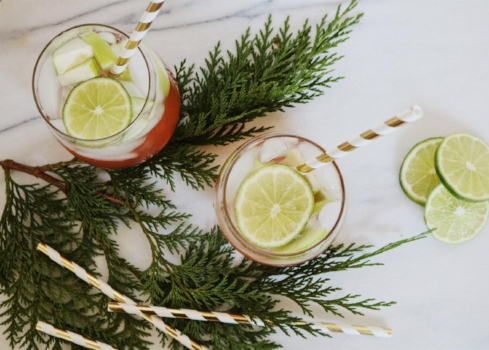 Christmas Holiday Cocktail - Sangria Recipe