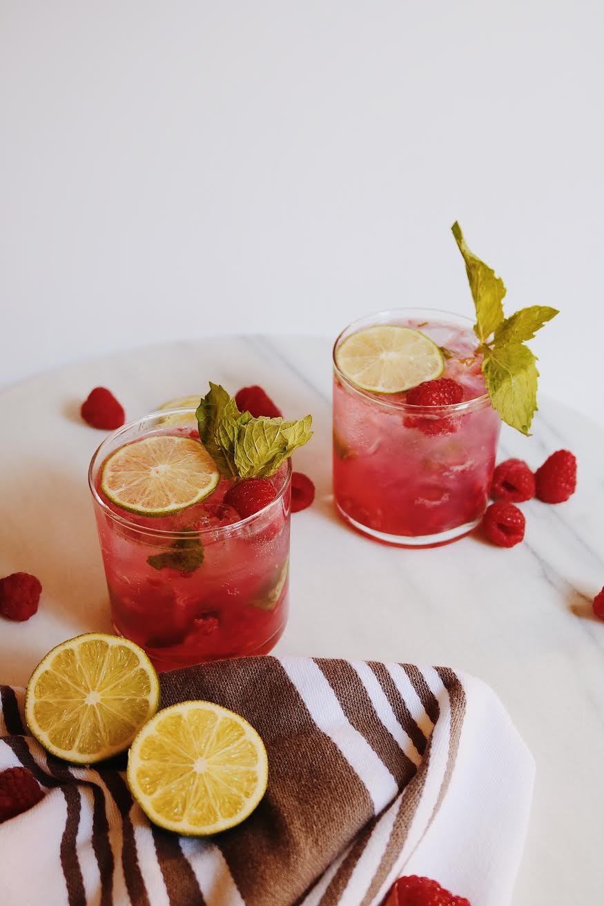 The Perfect Fresh Spring Cocktail