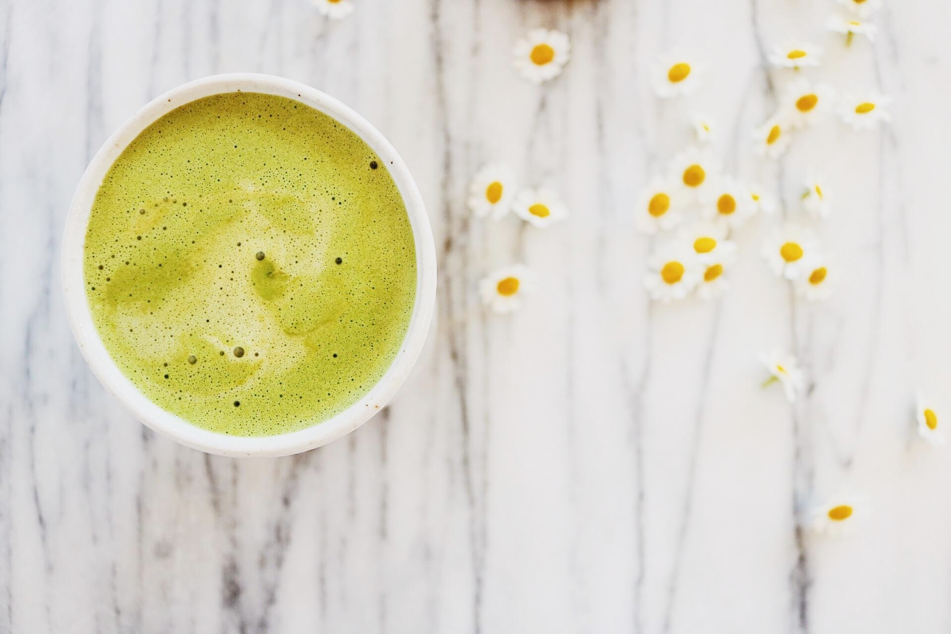 Our Dairy Free Matcha And Spirulina Latte