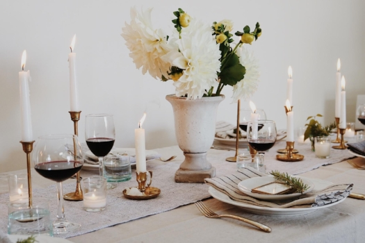 How To: Create A Budget Friendly Neutral Tablescape