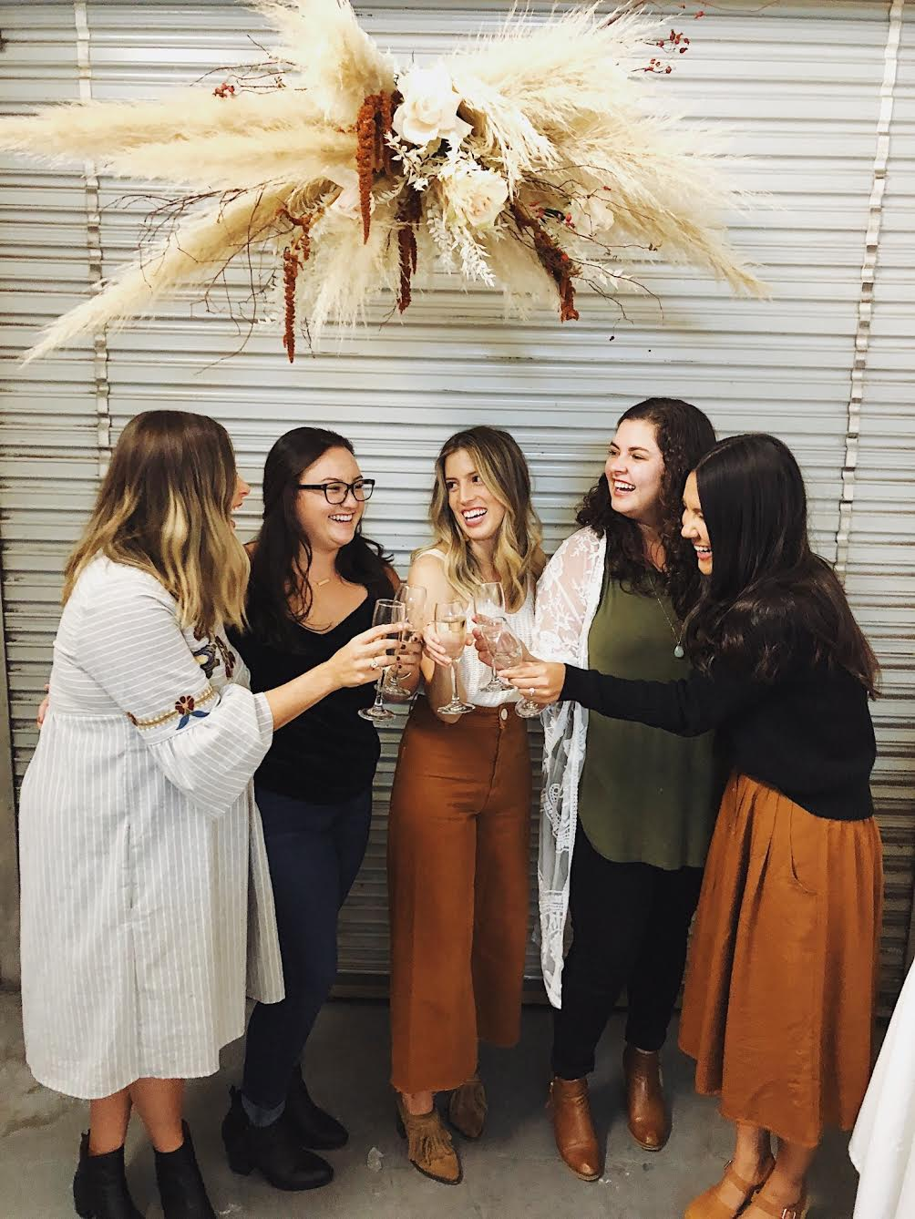 Behind The Scenes: Our Friendsgiving