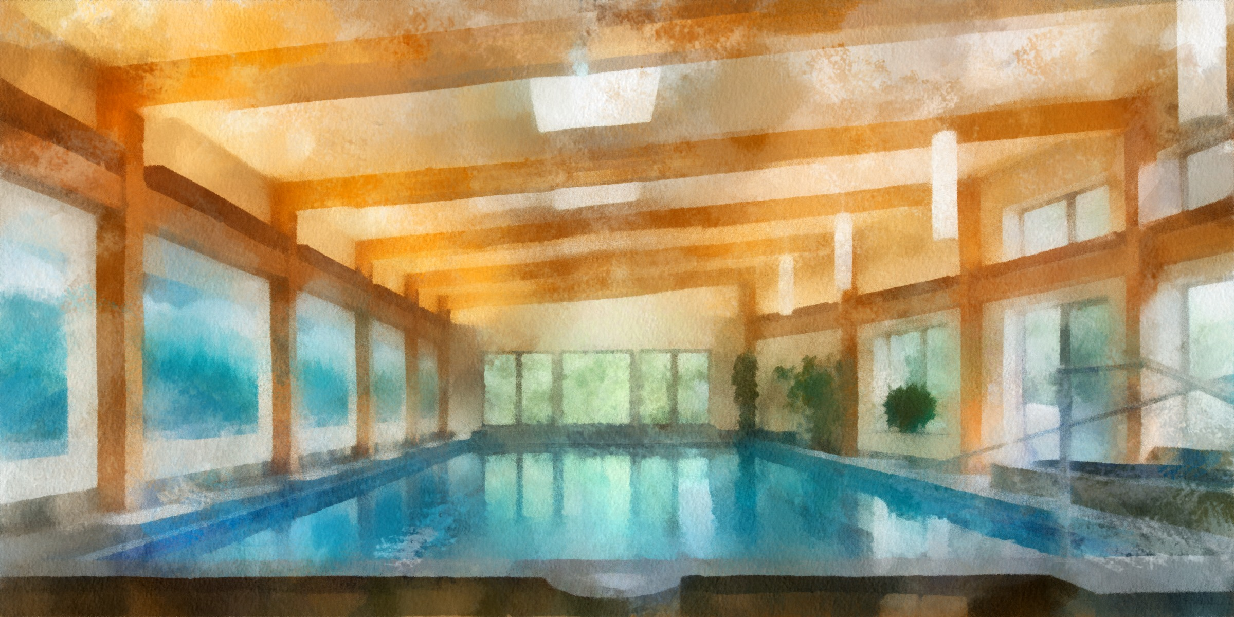 Year round indoor Pool