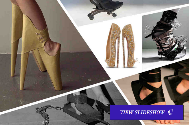 The 50 Wildest, Most Torturous Shoes of All Time