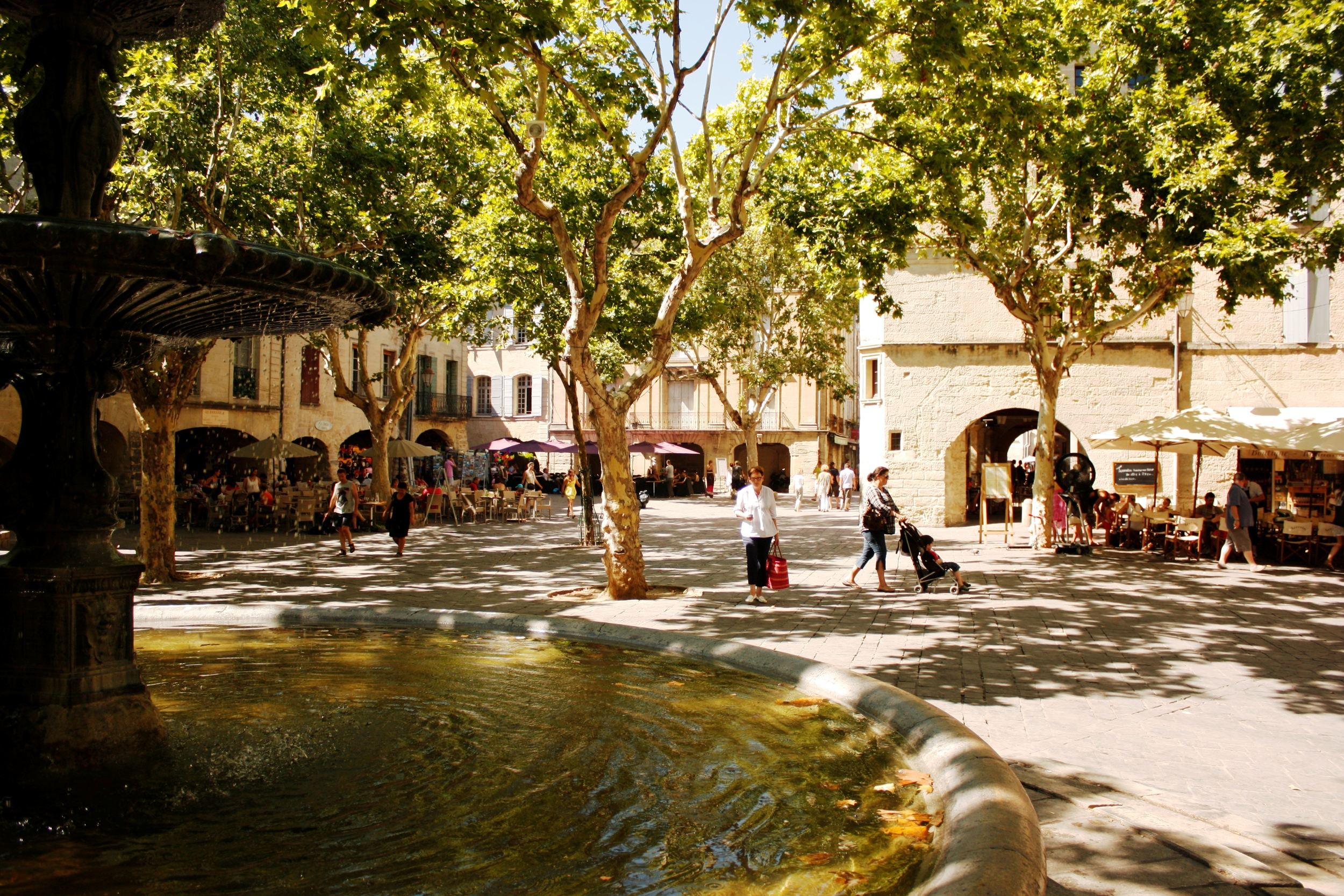 Main square, Uzes