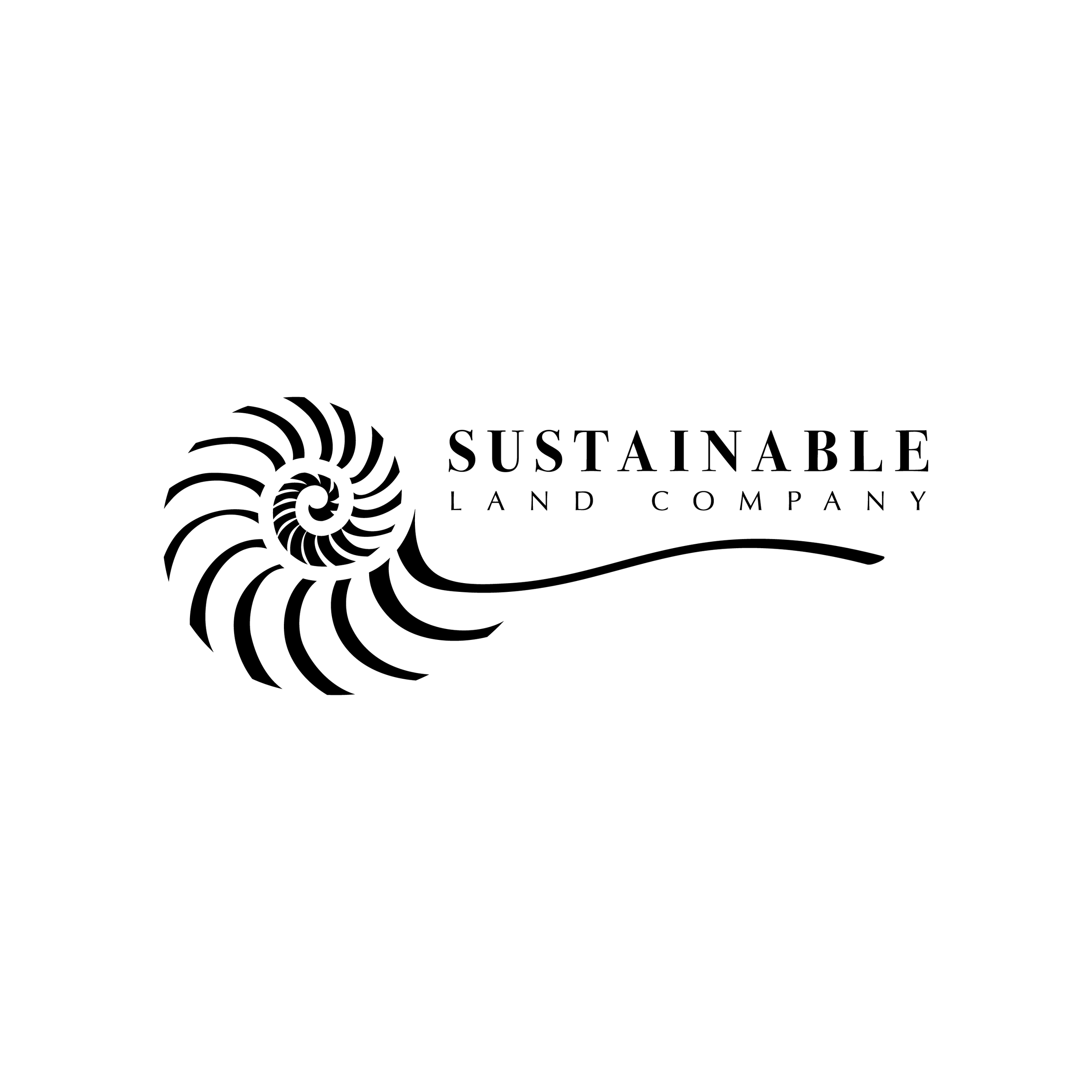 Sustainable Land Company Logo Design
