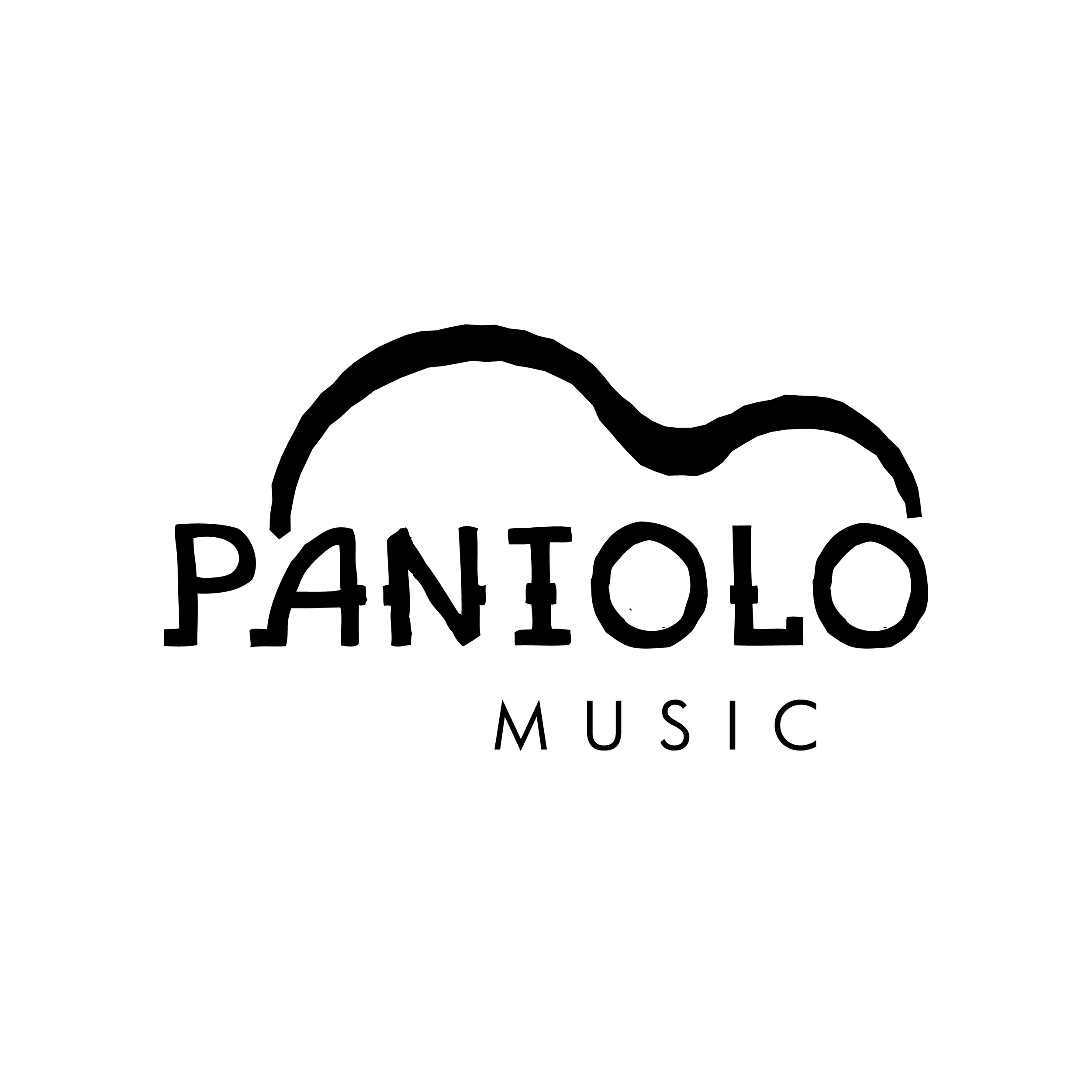 Paniolo Music Logo Design