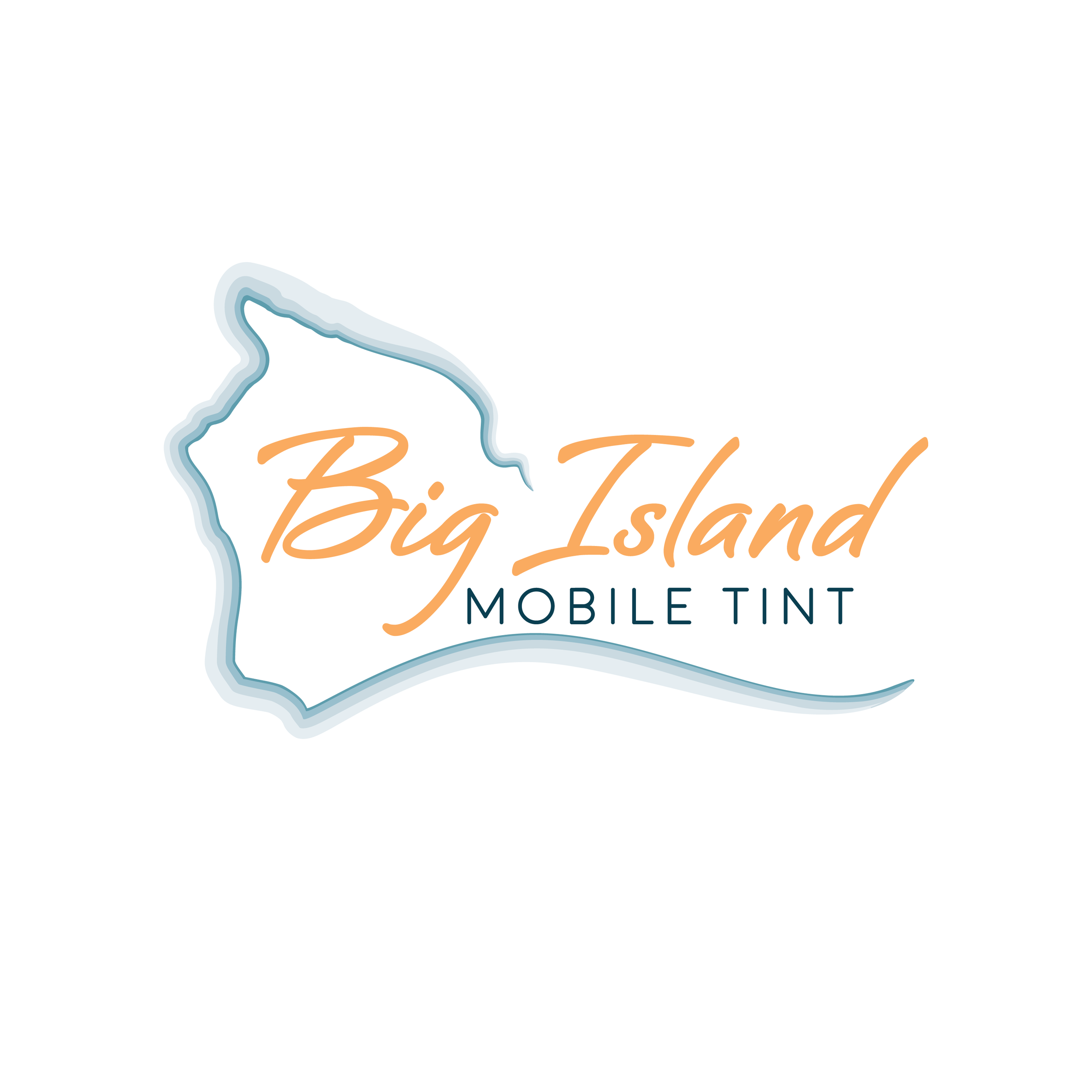Big Island Mobile Tint Logo Design