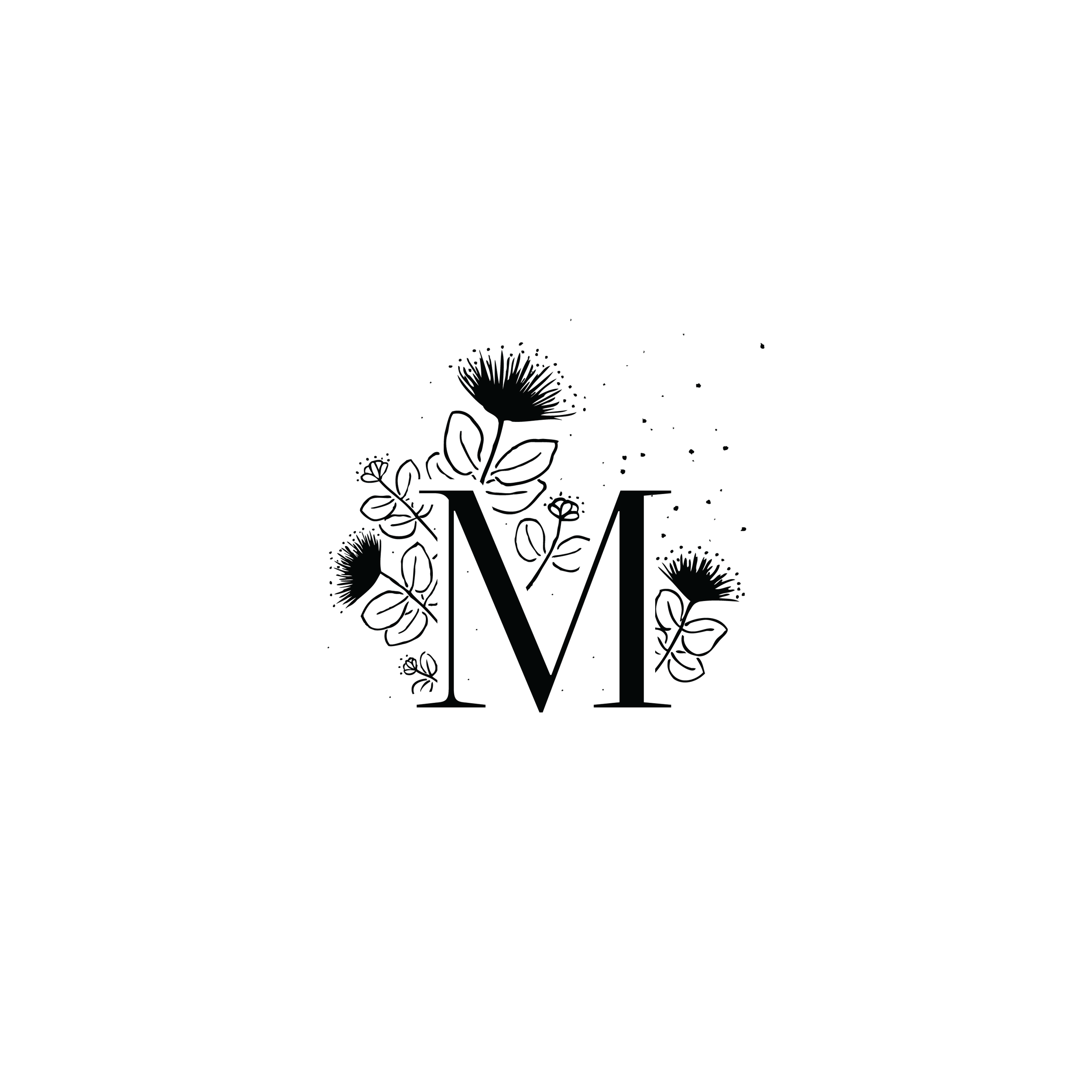 Megan Moura Photography Logo Monogram