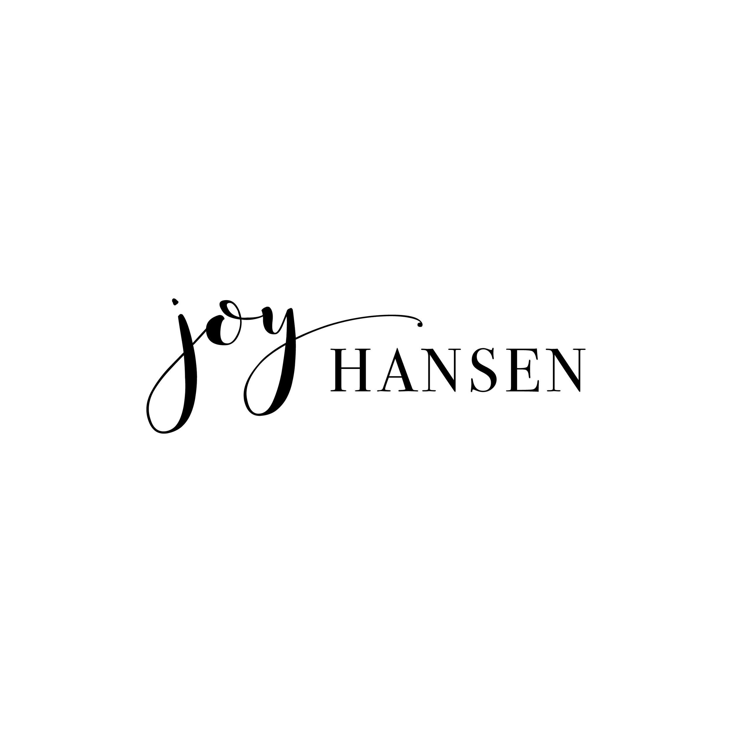 Joy Hansen Logo Signature