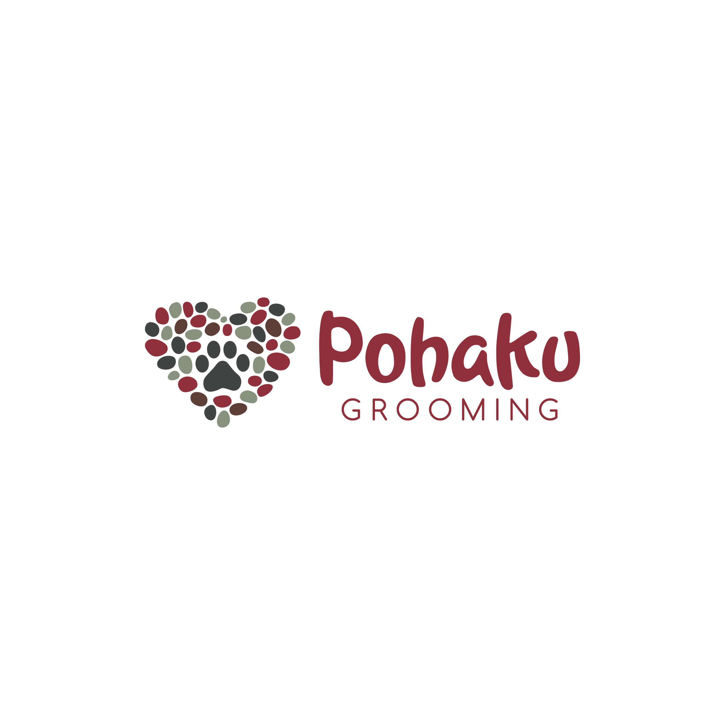 Pohaku Grooming Logo