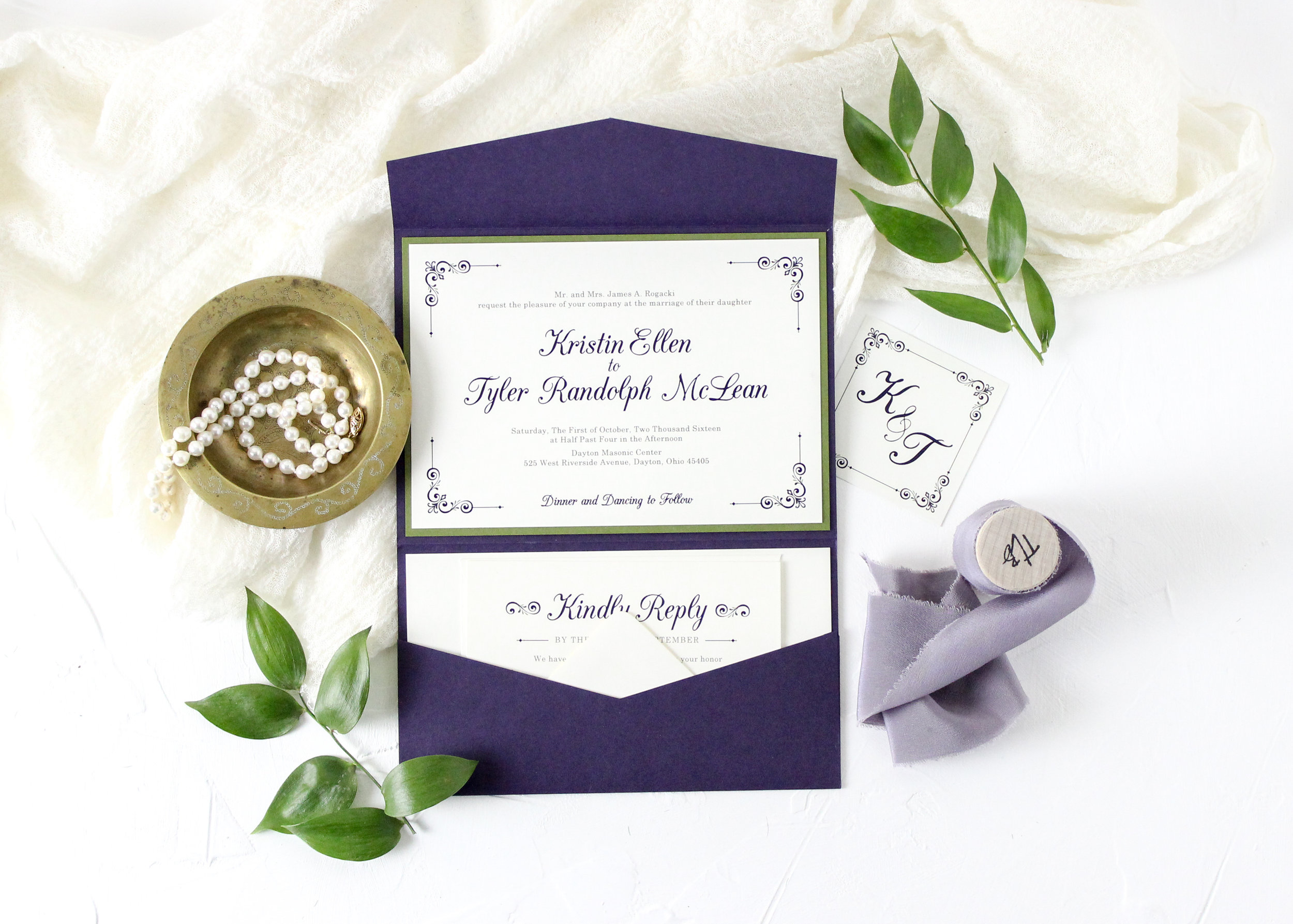 Pocket Folder Wedding Invitations Styles And Inspiration